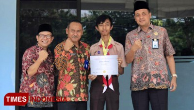 Hasbiansyah Cahyadi, Represents Indonesia's Student in the Mathematics Olympiad in Thailand
