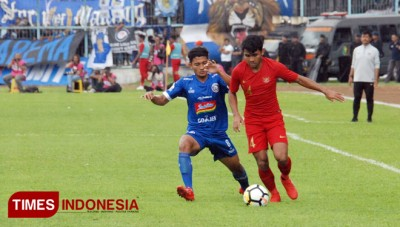 Arema FC vs Indonesia National U-22 Team: A fierce Match Ended in a draw
