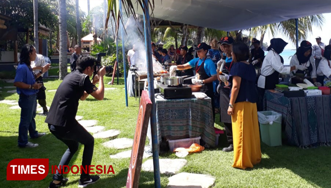 Ayam Taliwang Cooking Competition at Qunci Villas & Resort Lombok