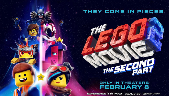 Puncak Box Office AS Direbut 'The LEGO Movie 2'
