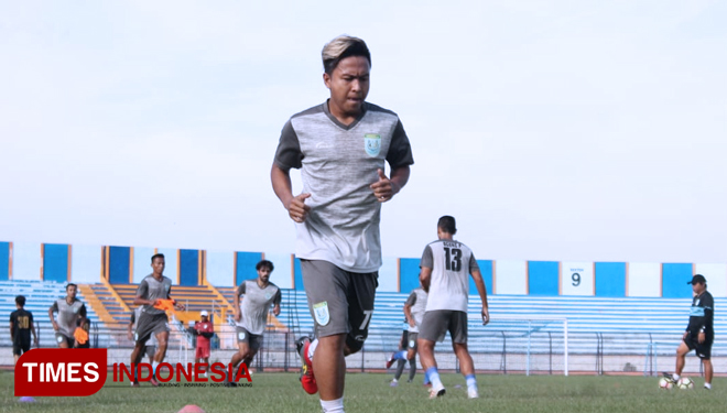 Persela Lamongan Mainstay Winger, Fahmi Al-Ayyubi gets Back to Training