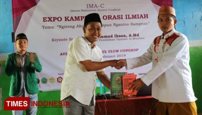 IMA-C Donated The Reading Books for Islamic Boarding School