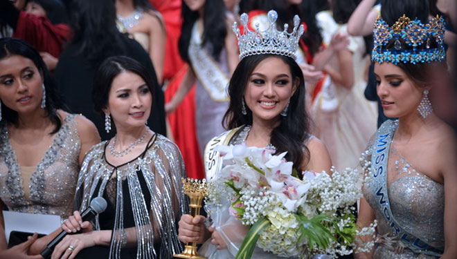 Princess Meganondo, the New Queen of Miss Indonesia 2019
