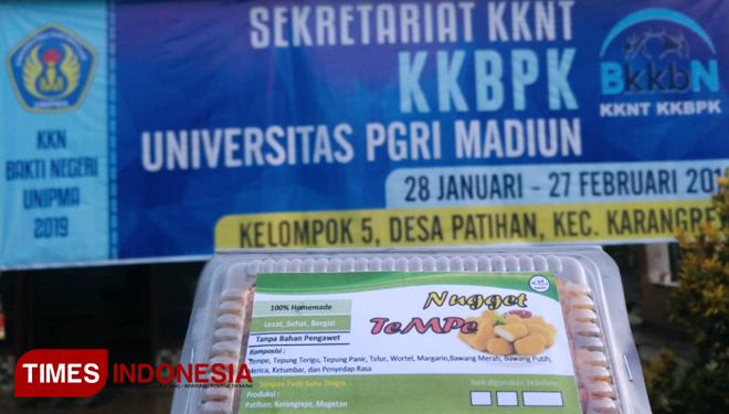 KKN UNIPMA Produced the Signature Product of Padas Bolong Village: Tempe Nugget