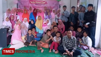 PBA UIN Malang Shared Love to the Orphans