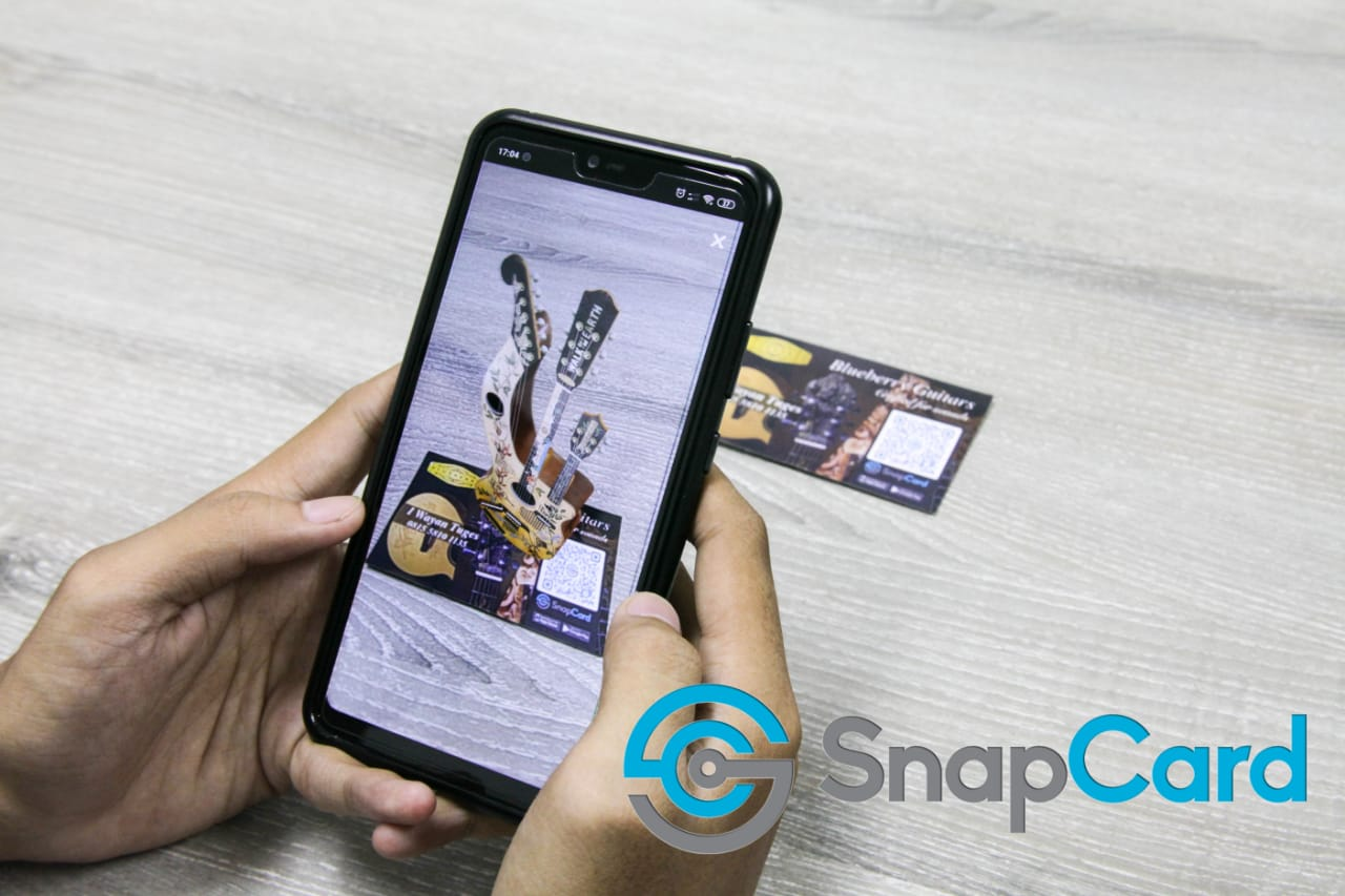 SnapCard, an Indonesian AR Technology Based App which Taken to Wikitude Showcase List