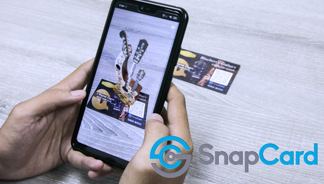 SnapCard, An Indonesian AR App Which Taken to Wikitude Showcase List