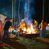 Feel the Beautiful Night Scenery at WPS Camp Ground Banyuwangi