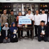35 Students of UIN Malang Granted Scholarship from BRI Malang martadinata