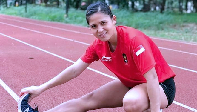 Sri Maya Sari, a Beautiful Athletes from South Sumatera Goes to Singapore Open 2019