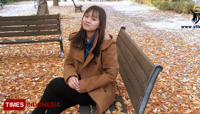 A STIKI Student Got Double Degree and a Scholarship from Korea