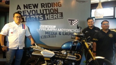PT GAS Triumph Motorcycle Resmi Rilis The New Scrambler 1200 XE