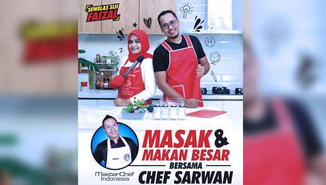 Free Dining and Cooking Together with Chef Sarwanto