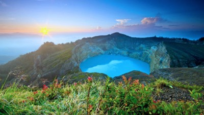 Kelimutu will be Registered as National Geopark Site