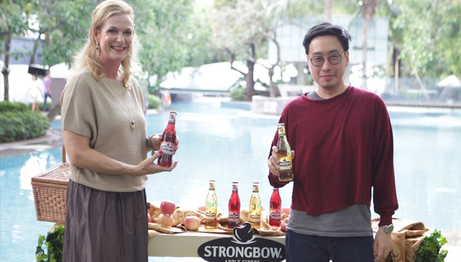 Enjoy the Holiday with A Sip of Strongbow