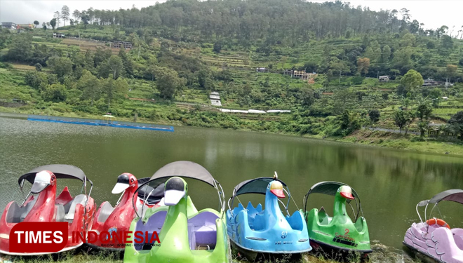 Spend Your Holidays to Enjoy the Beauty of Telaga Wahyu Magetan