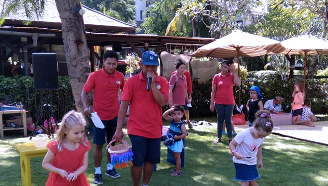 How Does Easter Party Conducted at the Novotel Bali Nusa Dua?