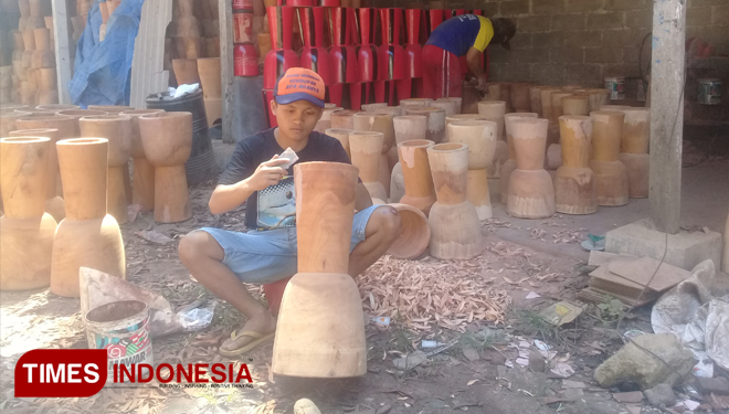 Let's Take a Look the Famous Kendang Jimbe of Blitar