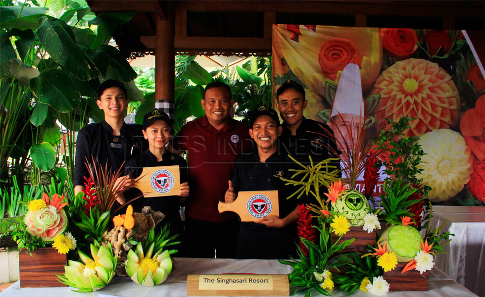 Begini Serunya Fruit Carving Workshop bersama IHGM Malang Raya