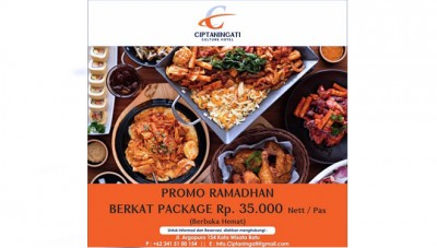 All You Can Eat Ifthar Meal at Ciptaningati Hotel Batu for only IDR 35 K