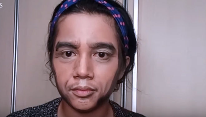Dinginkan Situasi, Jejets Bikin Video Makeup Transformation Versi Capres