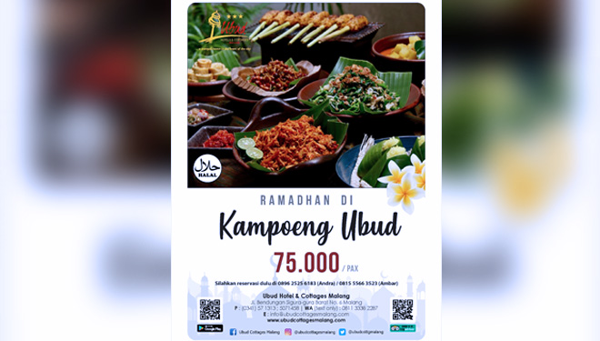 Get Balinese Traditional Food for Your Break Fasting Meal at Ubud Hotel Malang