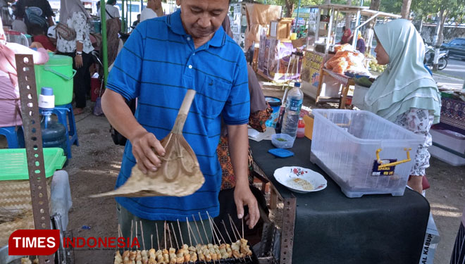 Tofu Satay a Unique Traditional Food from Magetan