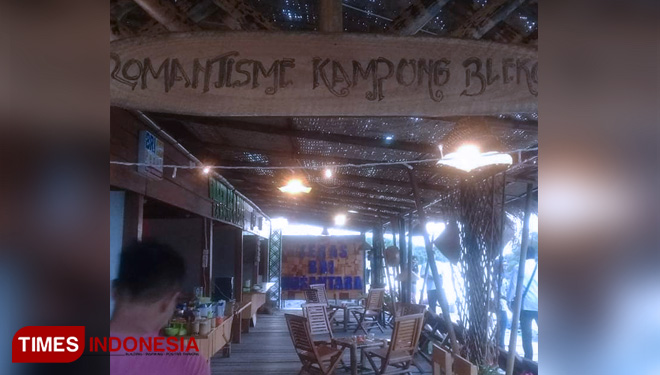 Enjoy Traditional Food at Convensional Restaurant Theme Wisata Kampung Blekok