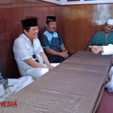 Iwan Kurniawan Asked for KH Abdullah Said Blessing to Start the Pekan Islami PT ACA