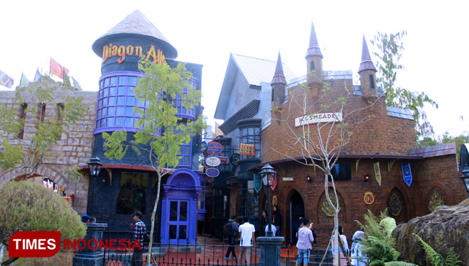 The Legend Stars Jatim Park 3 Presents You the Diagon Alley from the Harry Potter Movie