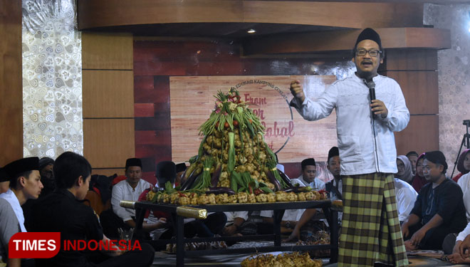 Kampung Coklat Blitar Join the Kupatan Day to Preserve the Local Heritage