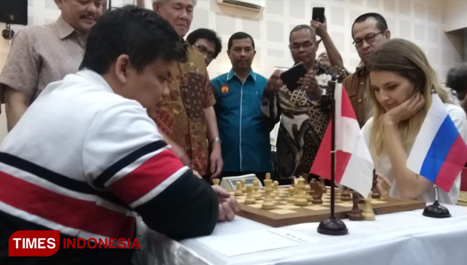 24 Pecatur Bertarung di Japfa Grand Master-Woman Grand Master Chess Tournament 2019