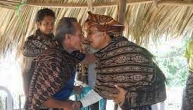 Be ready, the Sabu Raijua People will Kiss You Nose to Nose the time They First Met You