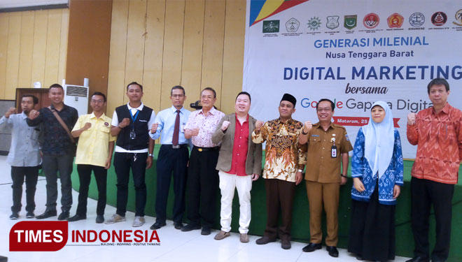 The NTB Together with Google Gapura Digital Held Digital Marketing Training