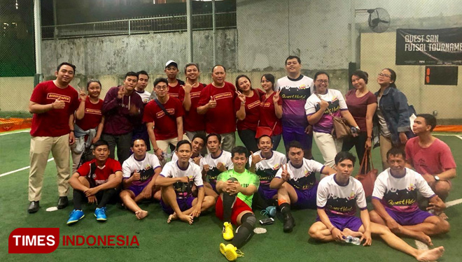 Quest Hotel Kuta Participated in the Futsal Competition Held by the Quest San Hotel Denpasar