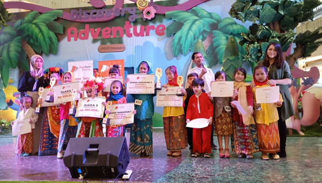 Paytren Academy Held the Jakarta Traditional Outfit Fashion Show Competition