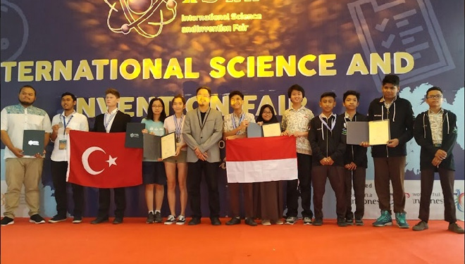 SMA NSA Surabaya Got Two Gold Medals at ISIF 2019