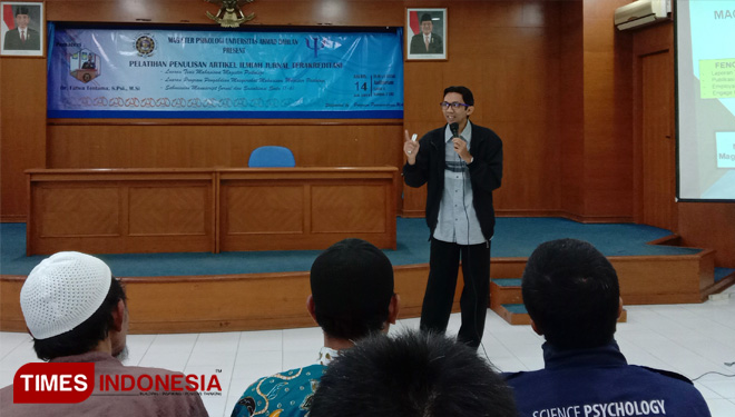 How to Write a Good Journal by UAD Lecturer Yogjakarta