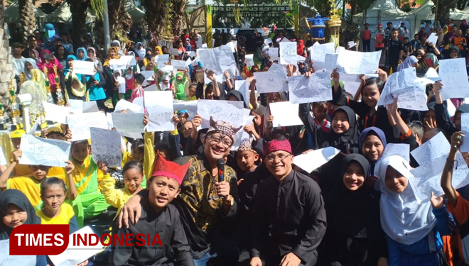 Creative Recycled Festival in Banyuwangi to Reduce Waste in the Area