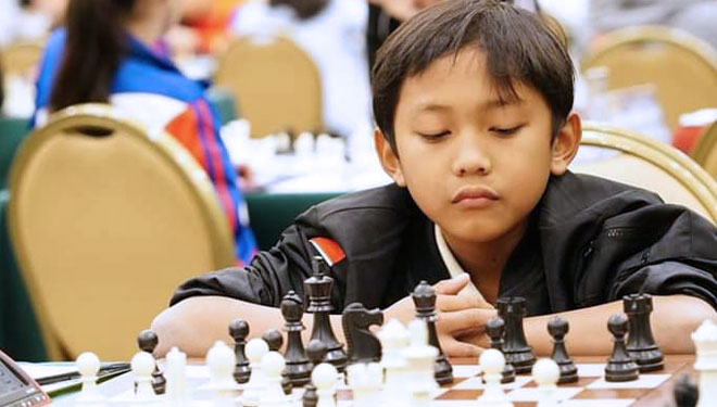 Two Junior Chess Athlete of Indonesia Got Golden Medals at the Eastern Asia Youth Chess Championship 2019