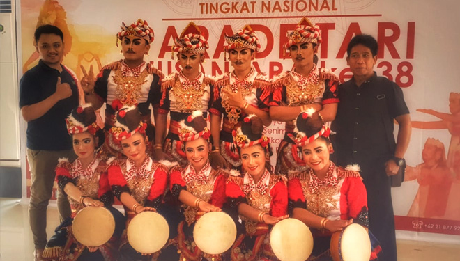 Porem Bulkiyo Dance of Blitar Gets 4 Achievements at the Parade Tari Nusantara