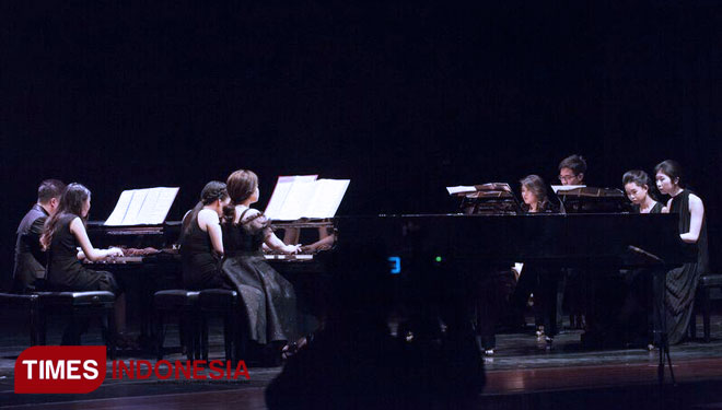 IndUniverse Collaboration Concert, a Wonderful Piano Concert by International Indonesian Pianists