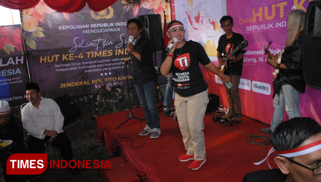 The Performances of Broke n Blues and Mr. D Entertained the Guests on TIMES Indonesia's 4th Anniversary
