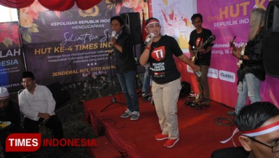 Penampilan Broke n Blues dan Mr D Manjakan Tamu HUT ke-4 TIMES Indonesia