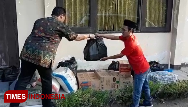 4th Anniversary of TIMES Indonesia, the Regional Team of Yogyakarta Conducted some Social Service