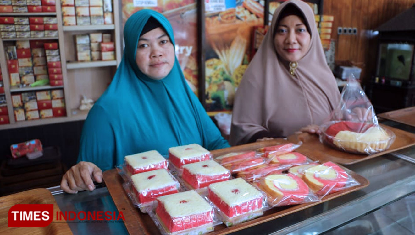 Red and White Bread for Indonesia's Independence Day