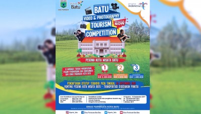 Disparta Kota Batu Gelar Batu Video dan Fotografer Tourism Competition