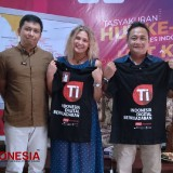 A European Joined Glutera and TIMES Indonesia for an Internship Program