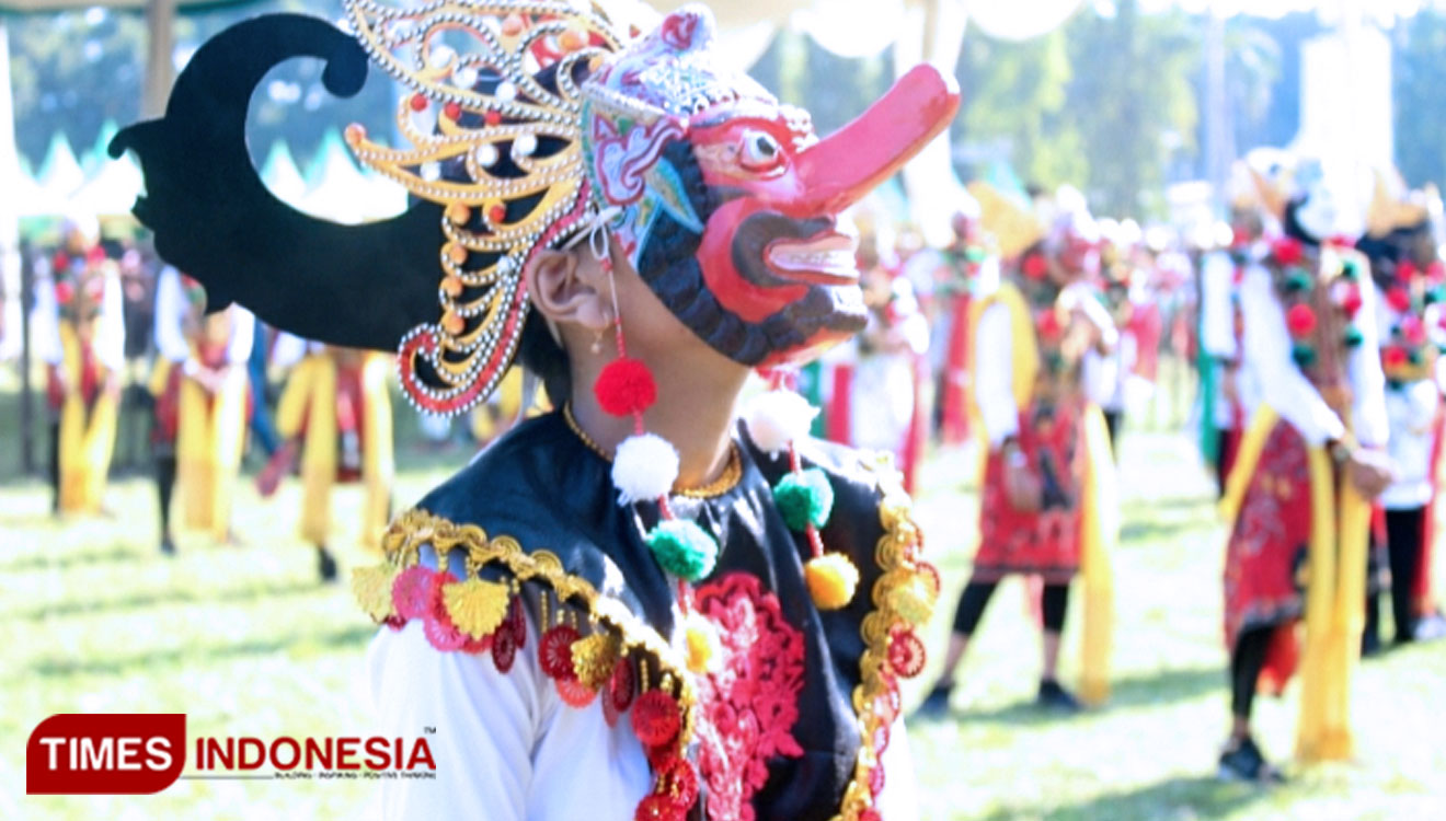900 Klono Sewu Dancers Performed at Opening Ceremony of Bulan Berkunjung Jombang