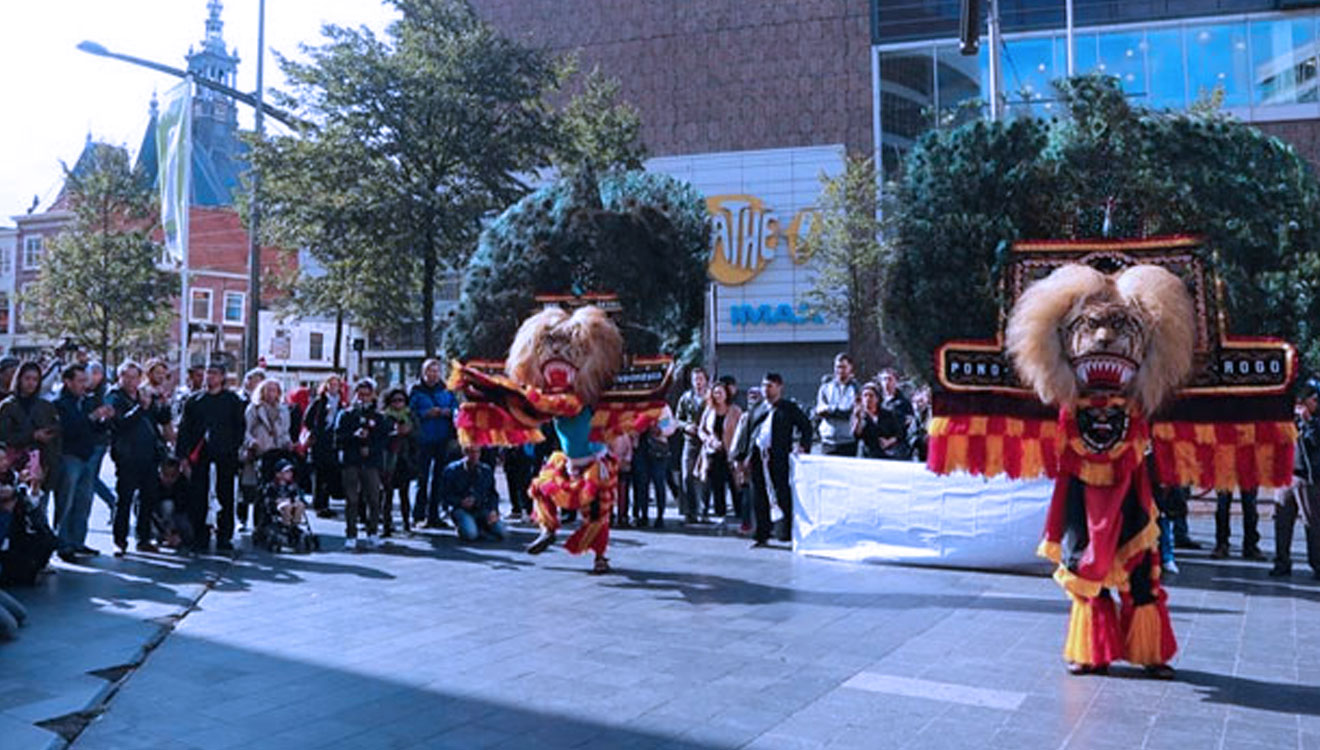 Reog Ponorogo Hypnotized All the Visitors of Embassy Festival Holland